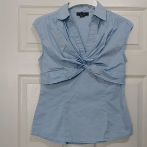 Alfani light blue top